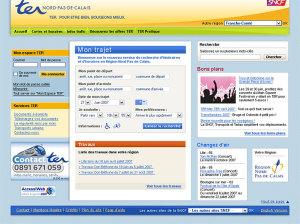 TER SNCF - appel d'offre