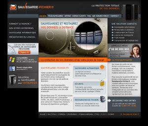 Sauvegarde Fichiers - site internet