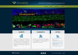 Innovarion - site internet