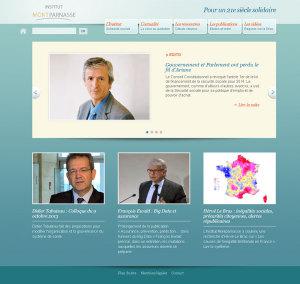 Institut Montparnasse - site internet