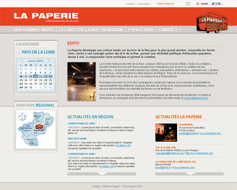 La Paperie - Centre Nationale des Arts de la Rue