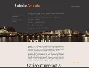 Labalte-avocats - site internet