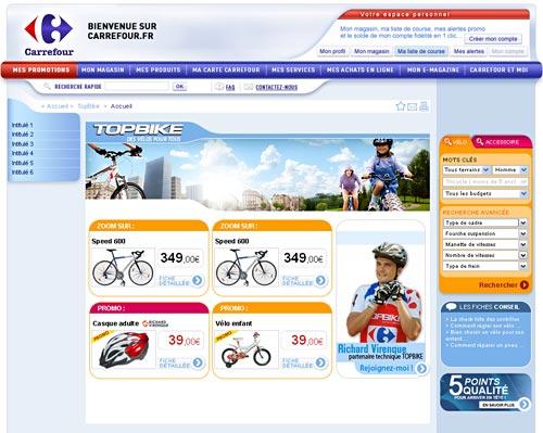 Projets : CARREFOUR.FR | Webdesigner et intégrateur html5 / css3 ...